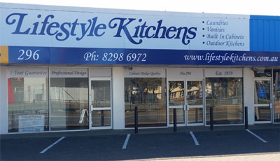 Lifestyle Kitchens Adelaide Showroom